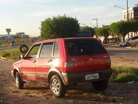 Fiat Uno Roubado Itabaiana Sergipe
